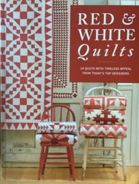 Red & White Quilts from today's Top Designers