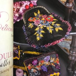 Floralies quiltées et brodées by Cécile Franconie