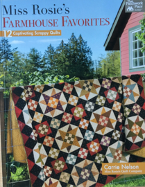 Miss Rosie's Farmhouse Favorites by Carrie Nelson