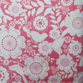 Roze - Witte bloem