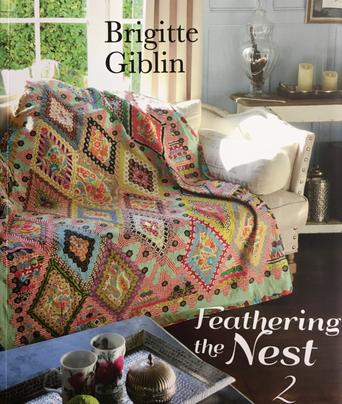 Feathering the nest 2 by Brigitte Giblin