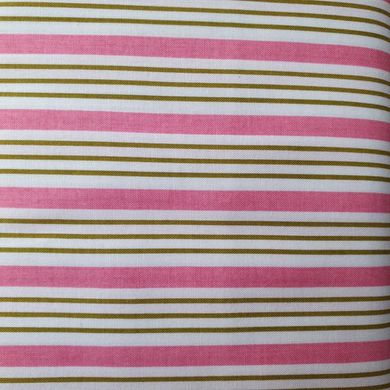 Roze -Groen streepje