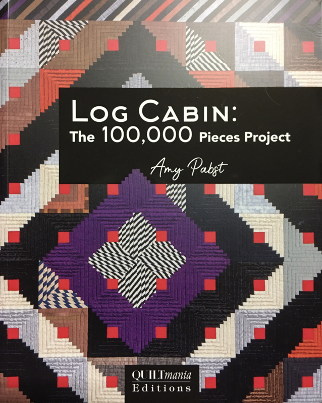 Log Cabin: the 100.00 pieces project by Amy Pabst