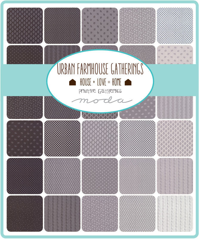 Urban Farmhouse Gatherings by Primitive Gatherings for Moda Fabrics