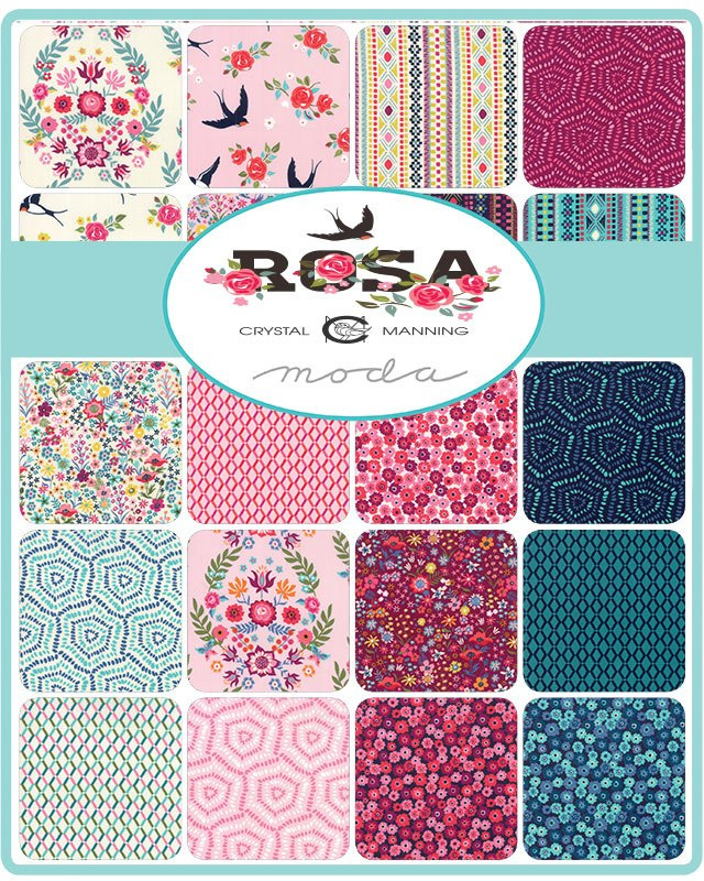Rosa by Crystal Manning for Moda Fabrics