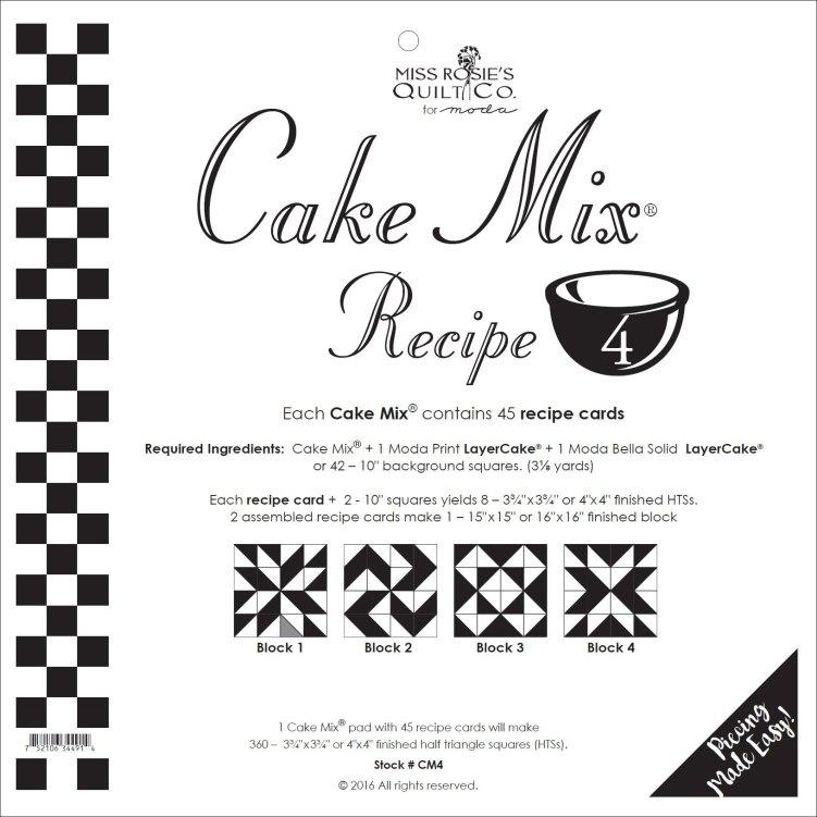 Moda Cake Mix 4