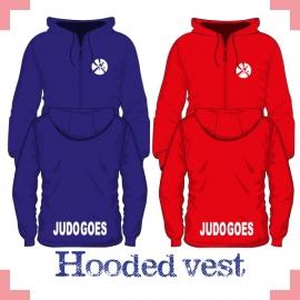 Hooded vest uni - JudoGoes