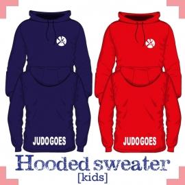Hooded Sweater uni kids - JudoGoes