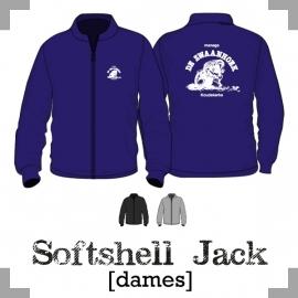 Softshell jack dames - Manege de Zwaanhoek