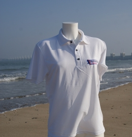 Poloshirt dames - Kustmarathon
