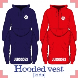 Hooded vest kids - JudoGoes
