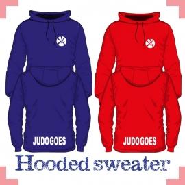Hooded Sweater uni - JudoGoes