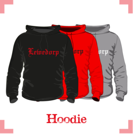 Hooded Sweater uni - Lewedorp Hooligan