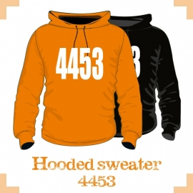 Hooded Sweater uni - Patrijzen 4453