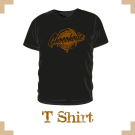 T-Shirt uni - Chocolate Lovers chocoholic