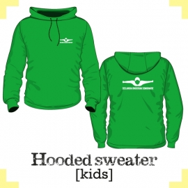 Hooded Sweater kids - Zeelandia onderdak combinatie