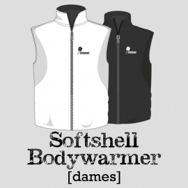 Softshell bodywarmer dames - TV Wolphaartsdijk