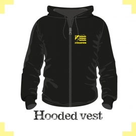 Hooded vest uni - ZV Scheldestroom