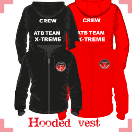 Hooded vest uni - X-treme CREW