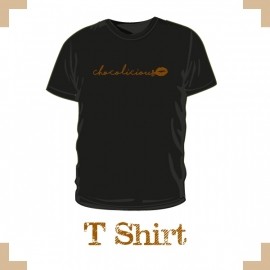 T-Shirt uni - Chocolate Lovers chocolicious