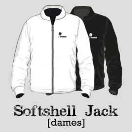 Softshell jack dames - TV Wolphaartsdijk