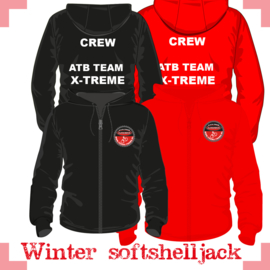 Softshell winterjack - X-treme CREW