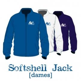 Softshell jack dames - WSV Oosterschelde