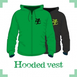 Hooded vest uni - Zesc