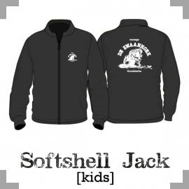 Softshell jack kids  - Manege de Zwaanhoek