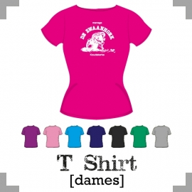 T-Shirt dames  - Manege de Zwaanhoek