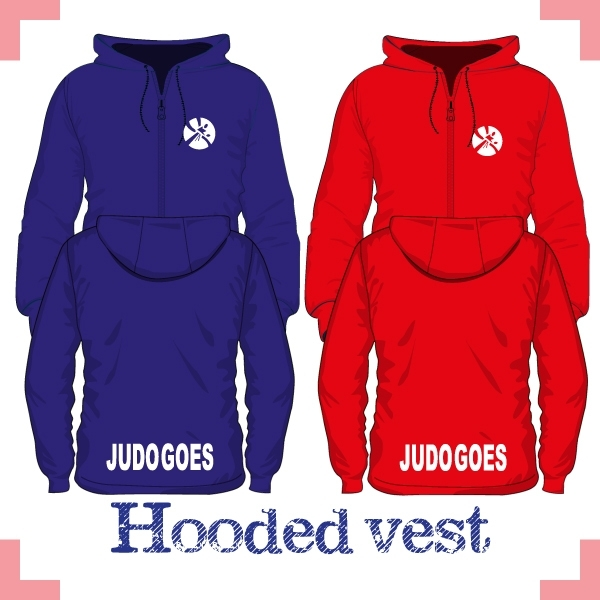 Hooded vest uni - JudoGoes