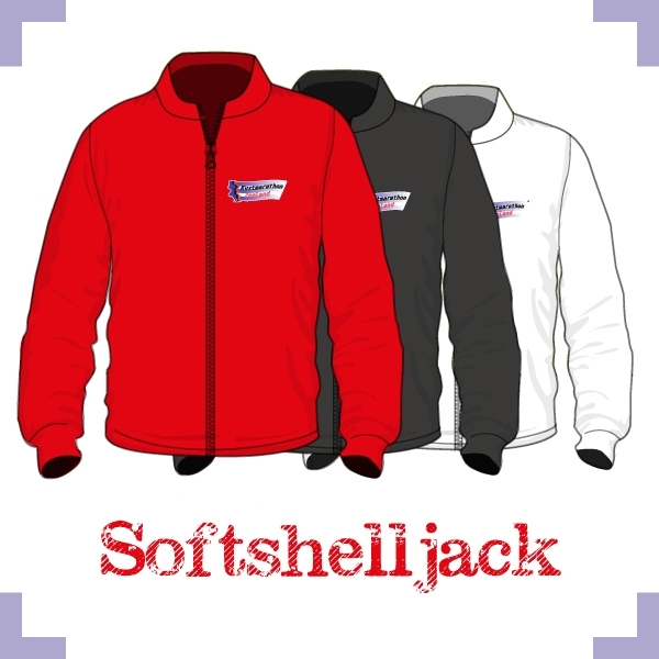 Softshell jack uni - Kustmarathon