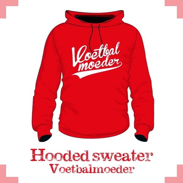 Hooded Sweater - SPS Poortvliet voetbalmoeder