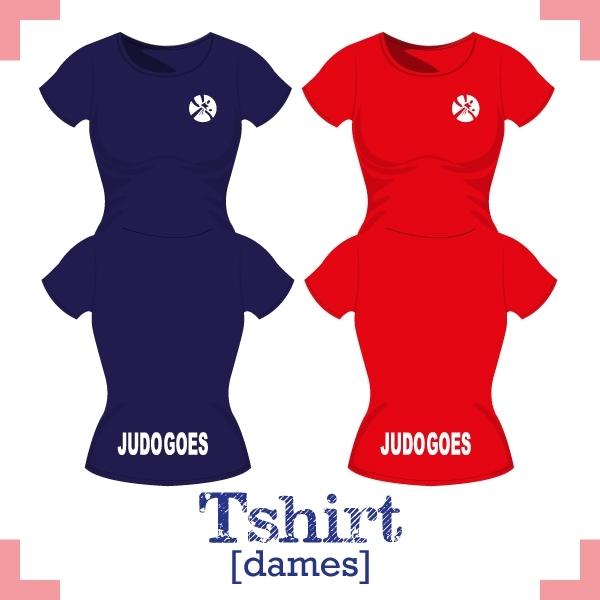 T-Shirt dames - JudoGoes