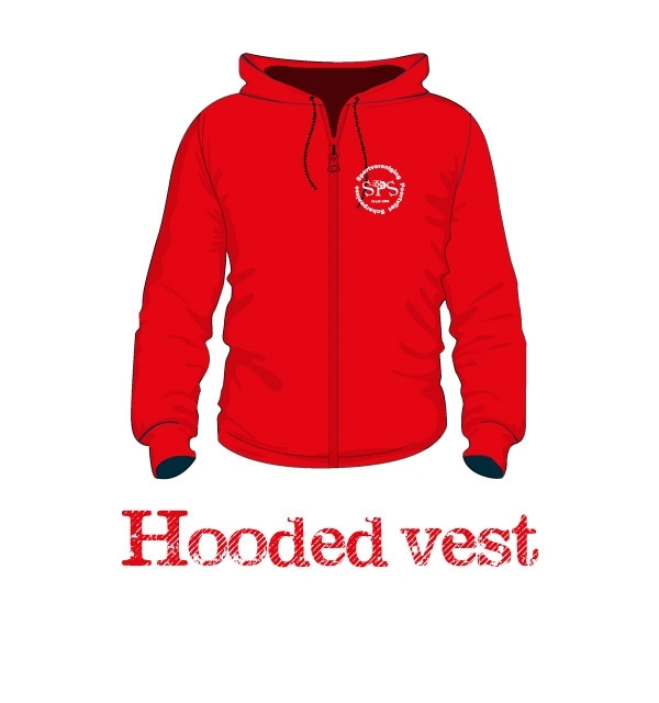 Hooded vest uni - SPS Poortvliet