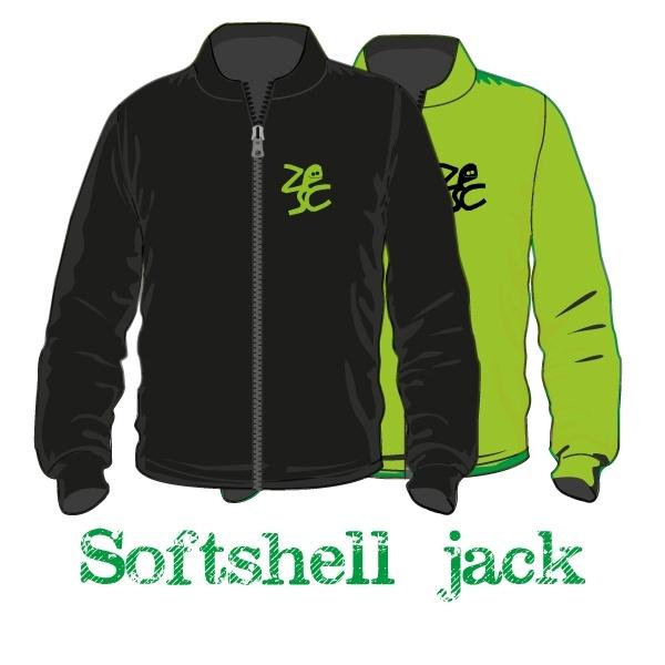 Softshell jack uni - Zesc