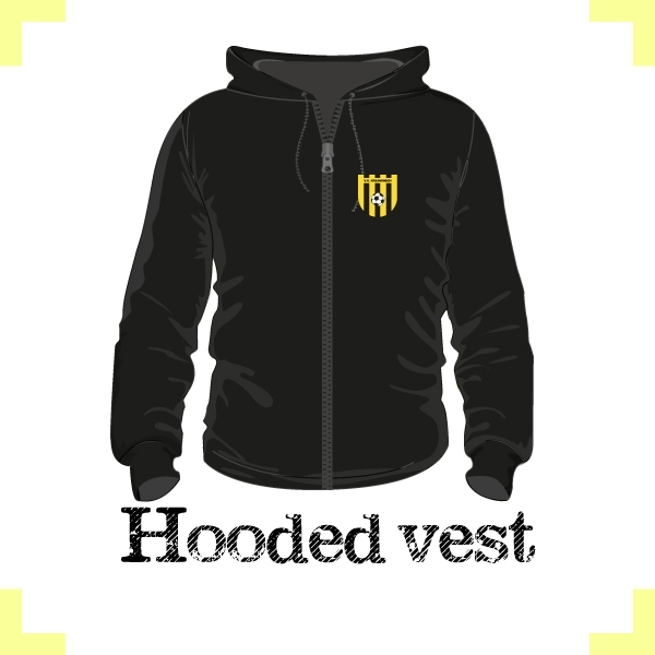 Hooded vest uni - vv Kruiningen