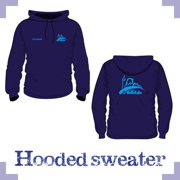 Hooded Sweater uni - Wewekabo