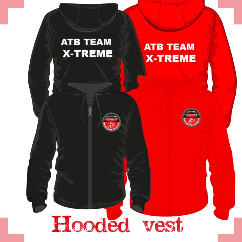 Hooded vest uni - X-treme FAN