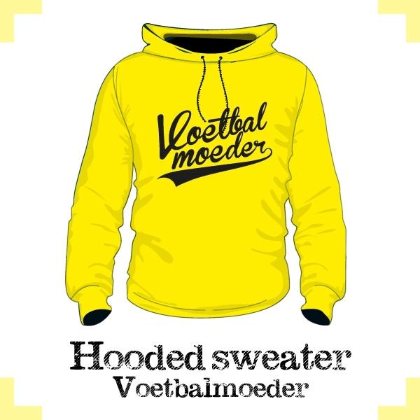 Hooded Sweater - vv Kruiningen - voetbalmoeder
