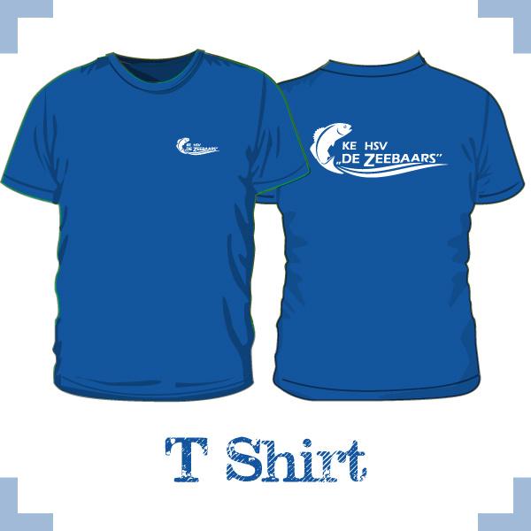 T-Shirt uni - HSV de Zeebaars
