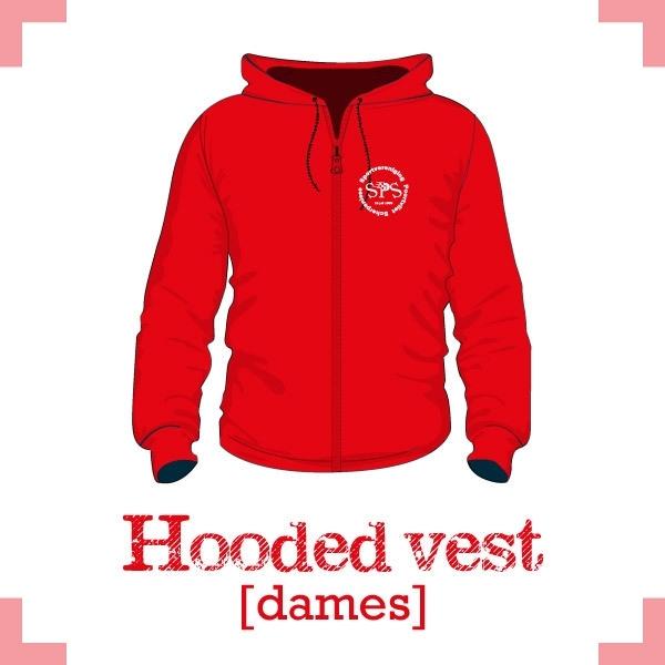 Hooded vest dames - SPS Poortvliet