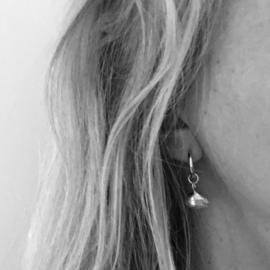 Earrings - Sealife nonnetje zilver