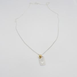 Hoogstpersoonlijk - ketting zilver hartje