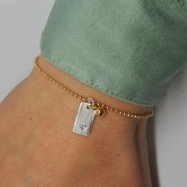 Hoogstpersoonlijk - armband verguld hartje