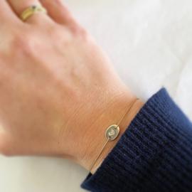 Bracelet - LOVE silver