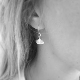 Ear-hooks Sealife nonnetjes verguld