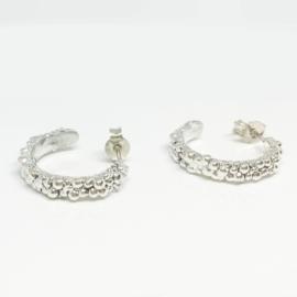 Earrings - branding silver