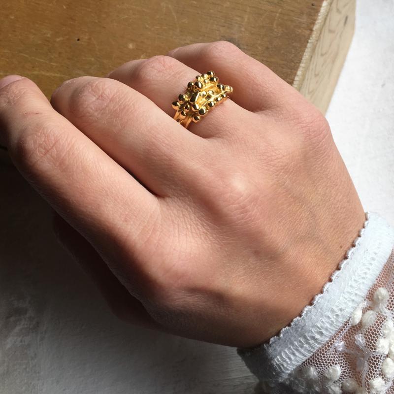 ROTS IN DE BRANDING goud