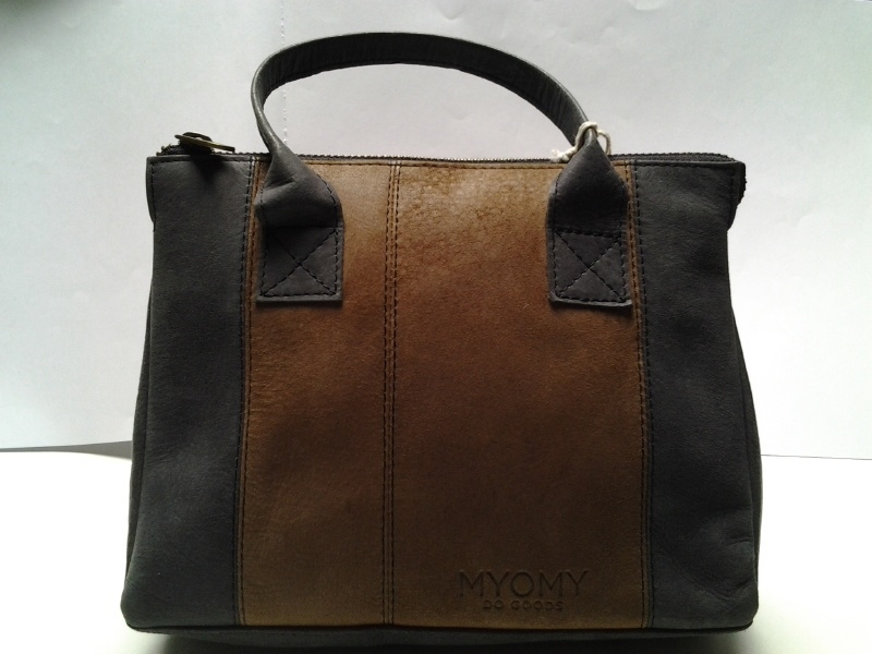 Myomy, My Classic Bag 12HRS Black & Brown